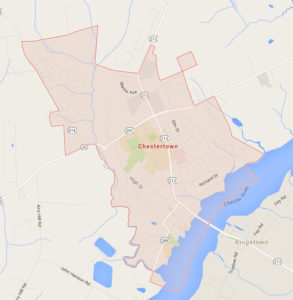 map of Chestertown